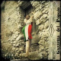 Bruno_Parretti_La_giovane_Italia_50x50cm_tecnica_mista_su_tavola_(2011)
