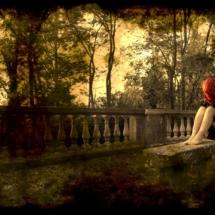 Bruno_Parretti_SEKHMET_la_signora_rossa_60x90cm_tecnica_mista_su_tela(2012)_